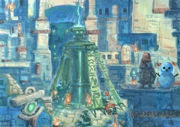 ゼノブレイド2 ルクスリア  背景