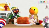 「今日の動画は、マスターソードだけで料理してみたです!」