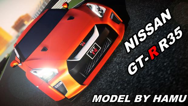 HM式 GT-R R35配布宣伝