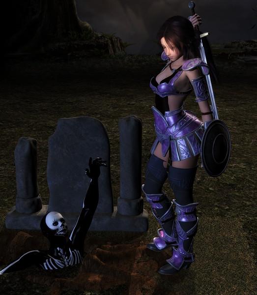 恐怖の墓場