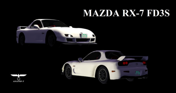 【MMD】マツダ・RX-7 FD3S スピリットR タイプB【配布】