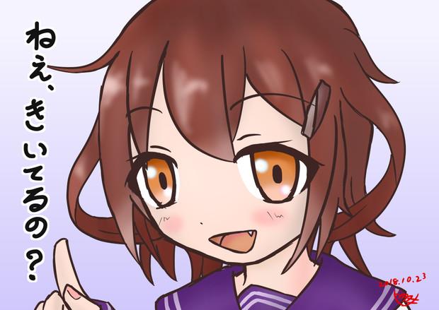 【艦これ】雷よっ!(描いてみた)