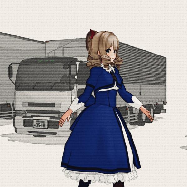 無限トラック(ikWatercolor2のテスト)