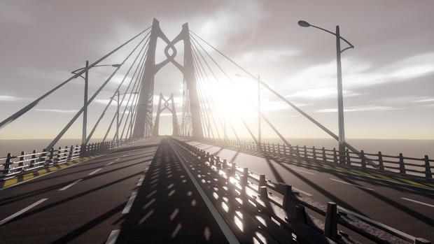 【MMDステージ配布あり】港珠澳大桥(中国结)
