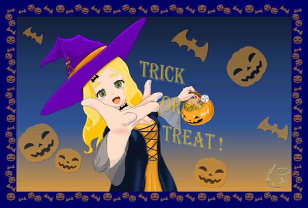 【東雲めぐ】Trick or Treat !【Excelアート】