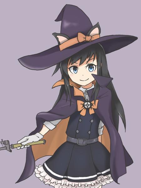Halloween朝潮ちゃん可愛いね