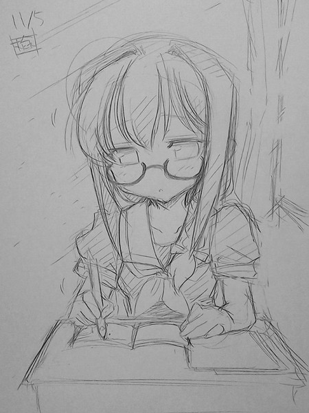 今日の時雨さん(うとうと)