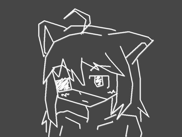 【ウゴツール】サーナちゃん(オリジナルキャラクター)