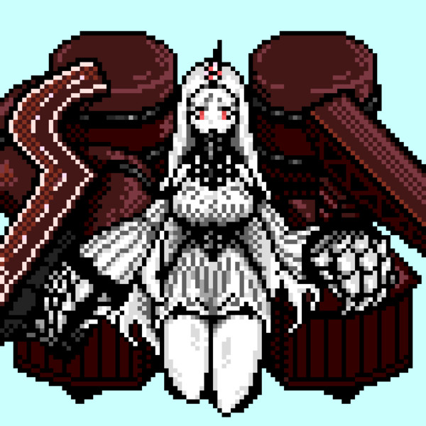 ドット絵 港湾棲姫2