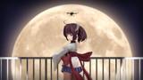 「【東北きりたん】今日はでかい月」のファンMMD