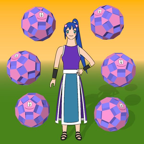 小十二・二十・十二面体と少女