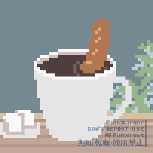 ウィンナーコーヒー【gif】