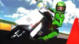 JOGにてスクーターレース(練習中)