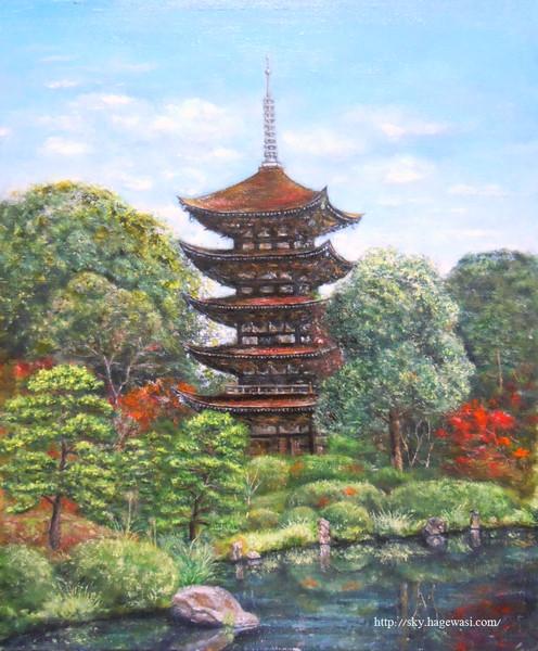 瑠璃光寺 五重の塔 (山口)