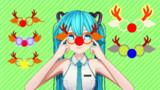 【MMD】トナカイはなメガネ【アクセサリ配布】