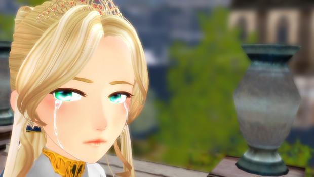 泣き顔のニーナ
