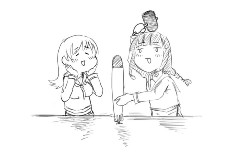 「じゃあいくよ~大井っち~!せーのっ!」