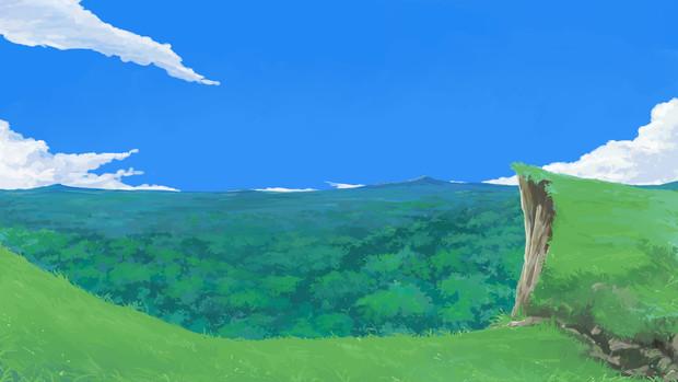 背景:原野
