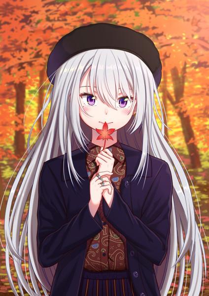秋服でろーん