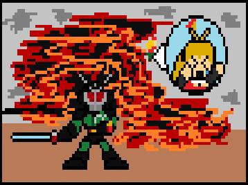 スターデューバレーはこの仮面ライダーBLACKRXが守る!!