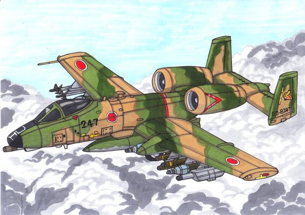 A-10親方が空自に導入されたようです
