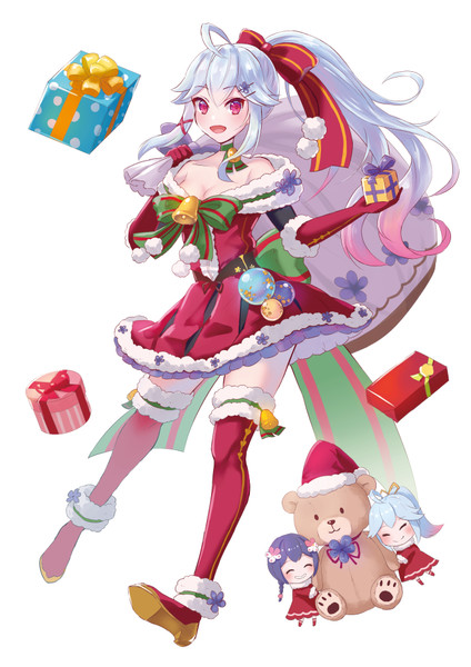 スミレ(クリスマス)