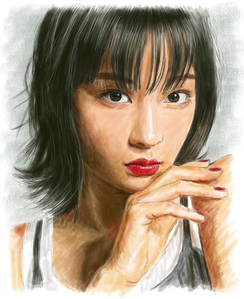 デジタル似顔絵広瀬すずさん Aki0n0 さんのイラスト ニコニコ静