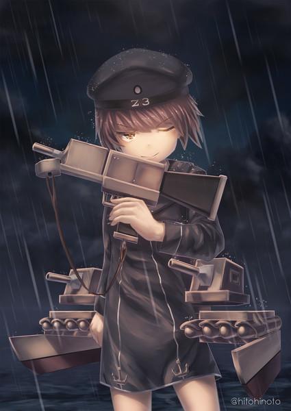 通り雨の抜錨
