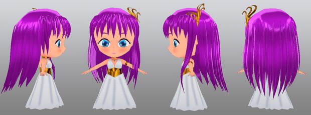 Athena MMD