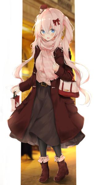 私服のマリーちゃん