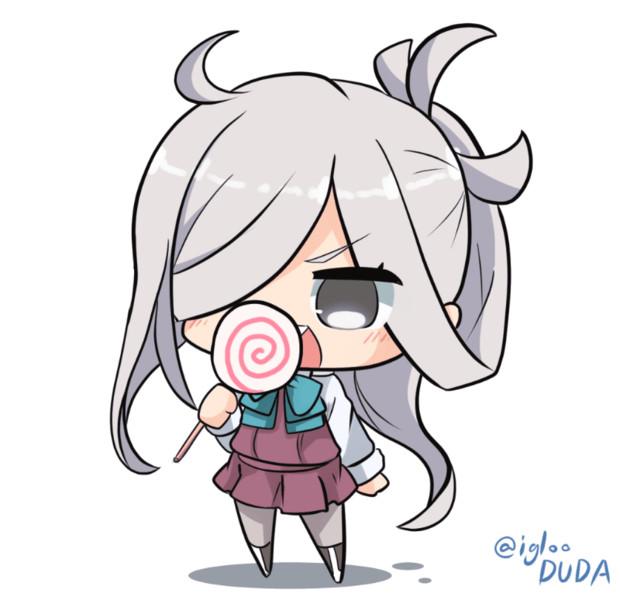 ガリガリ朝霜ちゃん
