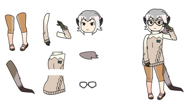 千賀風ミーアキャット新デザイン マオトゥー さんのイラスト
