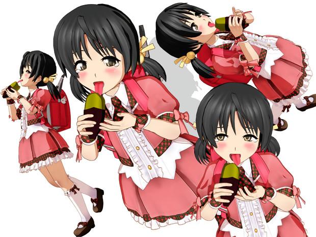 学校帰りに買い食いした焼き芋があまりに美味くて感涙するユキちゃん