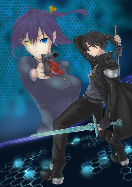 蛇王心眼と黒の剣士