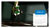 カレンダープロジェクト2019・2月
