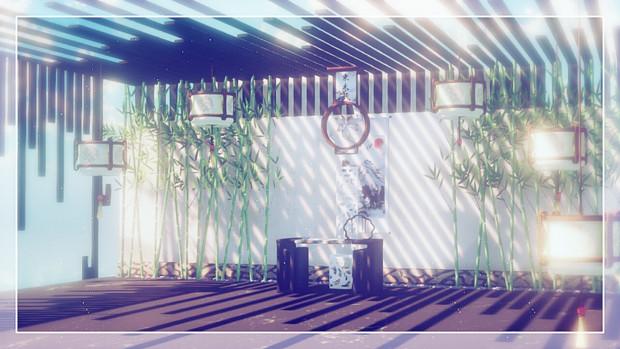 【MMDステージ配布あり】夢の間