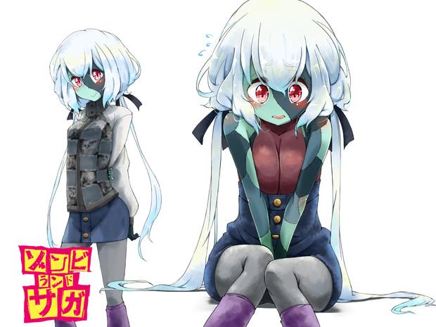ゾンビィ純子(冬服?)