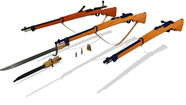 伍長式三十五年式銃海軍銃 ver1.00配布