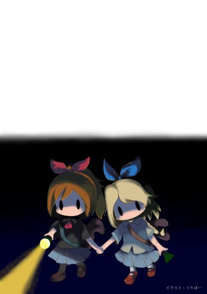 【深夜廻】ユイとハル