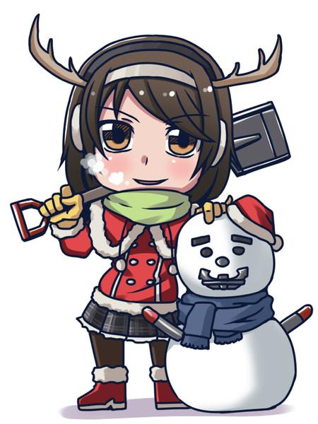 クリスマス谷風