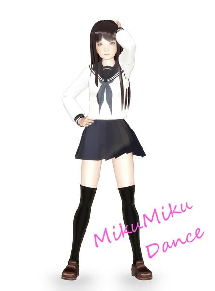 【MMD】オリジナルの女の子