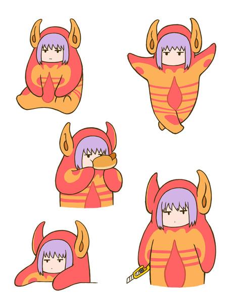 怪獣になった新条アカネちゃん2
