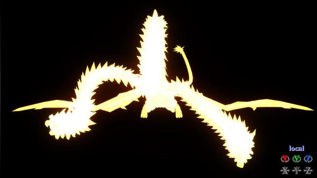 光る黄金の翼さん
