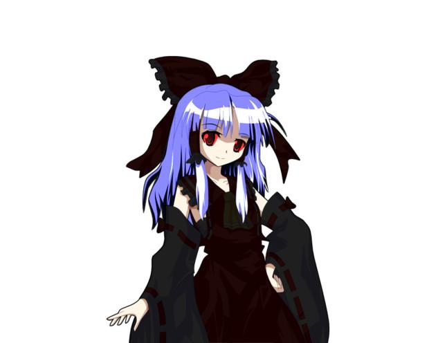 銀髪黒霊夢の仮装