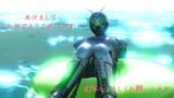 【MMDライダー】某動画再現のシャドームーンで新年のご挨拶【仮面ライダーBLACK】