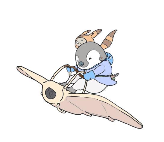 風の谷のペンギン