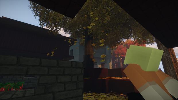 Minecraft 縁側