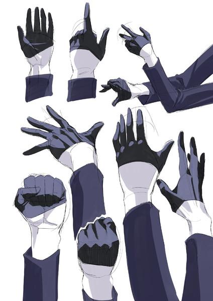 芳さんの手
