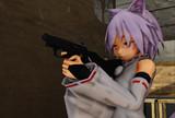 射撃訓練(前方)