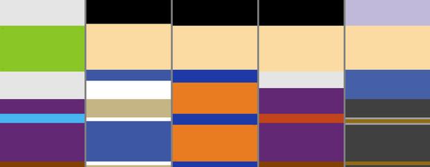 色だけで血祭り対象がわかる輪切りキャラクイズ